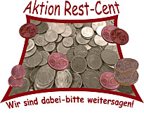 Logo der Spendenaktion Rest-Cent